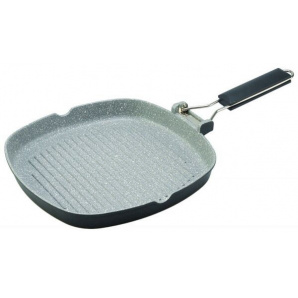 Сковорода-гриль Con Brio CB-2403 24х24 см