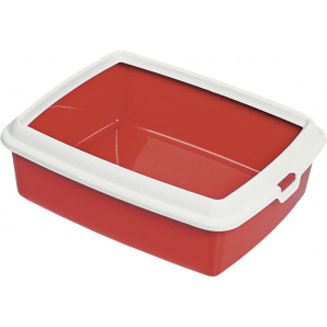 Туалет для котов MPS Spa Hydra Maxi 50x40x16,5 см Red