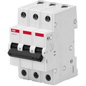 Автоматический выключатель ABB BMS413C25 3p 25A тип C