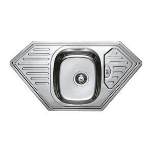Мойка кухонная HAIBA 95x50 (satin) (HB0656)