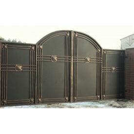 Ворота кованые закрытые Б0047зк Legran