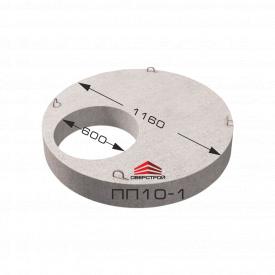 Плита перекрытия (крышка колодца) ПП 10-1