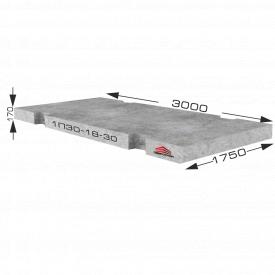 Плита дорожня 1П30-18-30 (3000х1750х170 мм)