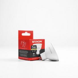 Лампа светодиодная ETRON Light Power 1-ELP-061 MR16 5W 3000K 220V GU5.3
