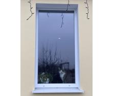 Вікно глухе з якісного профілю WDS Ультра 6, з однокамерним енергозберігаючим склопакетом 700х1400