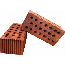 Кирпич керамический рядовой 1,35НФ полуторный 20% пустотность