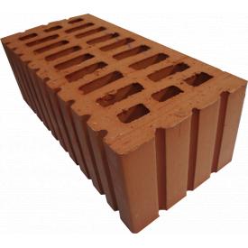 Кирпич керамический рядовой 1,35НФ полуторный 37% пустотность