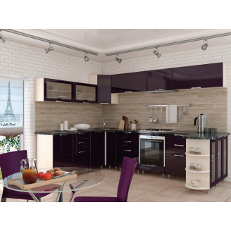 Кухня Софія Люкс комплект 2м фіолет Сокме