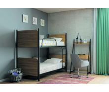 Кровать двухъярусная Арлекино 80 Металл-дизайн металлическая