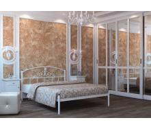 Ліжко металеве Кассандра 180 Метал дизайн