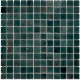 Aquaviva Мозаика стеклянная Aquaviva Dark Green KL035