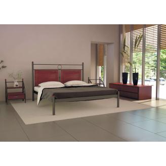 Ліжко металеве Ніколь 180 Метал дизайн