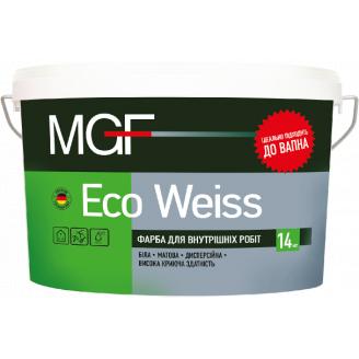 Фарба MGF M1 ЕСО Weiss 1,4 кг