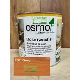 Масло с воском Osmo Decorwachs 2.5л 3137 Cherry Вишня