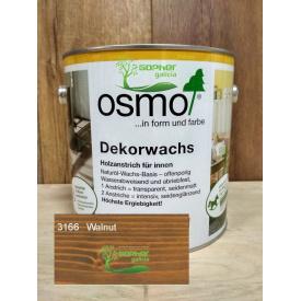 Олія з воском Osmo Decorwachs 2.5л 3166 Walnut Горіх