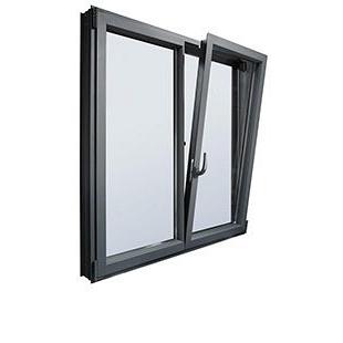 Вікно з теплого алюмінію Hoffman W70 1300х1400 см