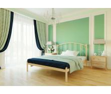 Ліжко металеве Шарлотта 120 Метал дизайн