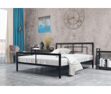 Ліжко металеве Квадро 160 Метал дизайн
