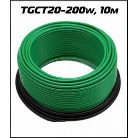 Нагрівальний кабель TermoGreen TGCT20-200W 10м