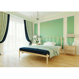 Ліжко металеве Шарлотта 140 Метал дизайн