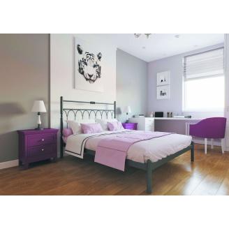 Ліжко металеве Тіффані 160 Метал дизайн