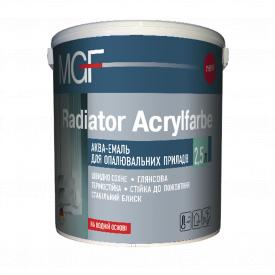 Эмаль акриловая для радиаторов MGF Radiator Acrylfarbe 0,75 л
