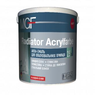 Емаль акрилова для радіаторів MGF Radiator Acrylfarbe 0,75 л