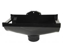 Воронка компенсуюча Nicoll 29 VODALIS D100 темно-сірий