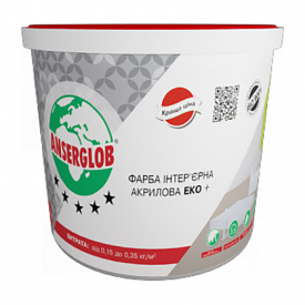 Краска интерьерная акриловая ЭКО + 14 кг