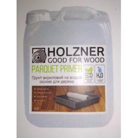 Акриловый лак грунт для дерева Holzner Parquet Primer 5л