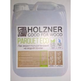 Лак акрил-полиуретановый на водной основе Holzner Parquet ECO 5л