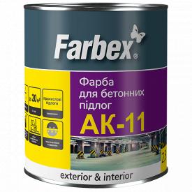 Краска для бетонных полов АК-11 Farbex