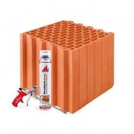 Керамические блоки Porotherm Klima Dryfix 30