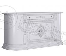Комод Чикаго 4Д Білий глянець Миро-Марк