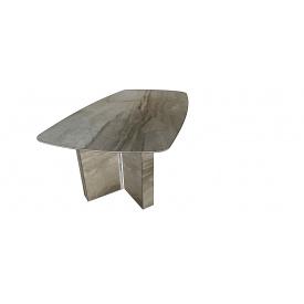 Стіл мармуровий на мармурових ніжках для конференц залу під замовлення