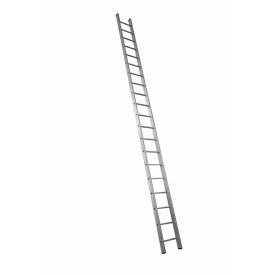 Алюминиевая лестница приставная на 20 ступеней (профессиональная)