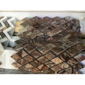 Мозаика из мрамора 305х305х8 мм в ассортименте