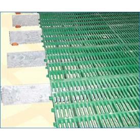 Решетка для пола 9 см 60х40 см зеленая