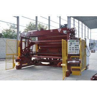 Вібраційна машина CGM ТC2 для виробництва залізобетонних виробів (ЗБВ) методом віборформованія
