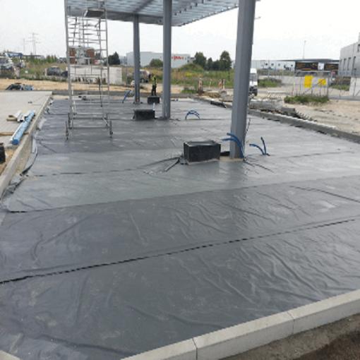Геомембрана под бетон замедлители схватывания бетонной смеси