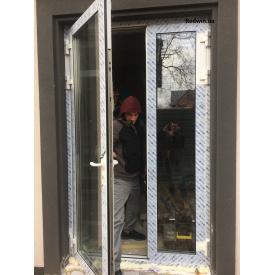Алюминиевые двери Алютех с защитой от сквозняков