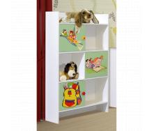 Шафа книжкова Мульти Світ меблів 80х150х30 см