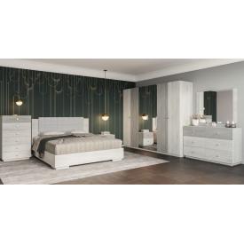 Спальня Вивиан 6д Мир мебели Аляска/монолит