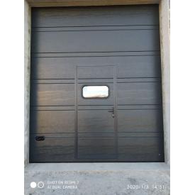 Промышленные секционные ворота Ryterna 4050x4500 Ral7016