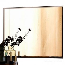 Зеркало Асти 100х80 дуб крафт + белый глянец Миро-Марк