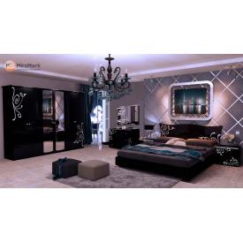 Спальня Богема 6Д чорний глянець Миро-Марк