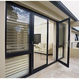 Двери алюминиевые входные Alutech ALT 62