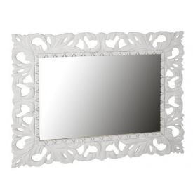 Зеркало Империя 120х100 белый глянец Миро-Марк