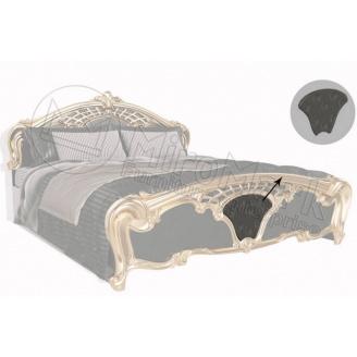 Мягкая вставка к кровати 180 (комплект 2шт.) Ева черный глянец Миро-Марк