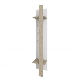 Вішак Барселона Сокме 40х202х32 см дуб веленгтон / білий